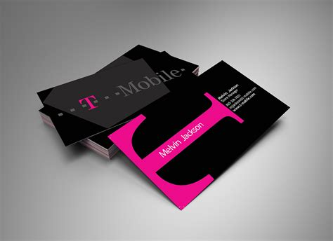 T Phone Number On Business Card