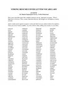 words not to use in a cover letter resume words use cover letter resume cover letter key