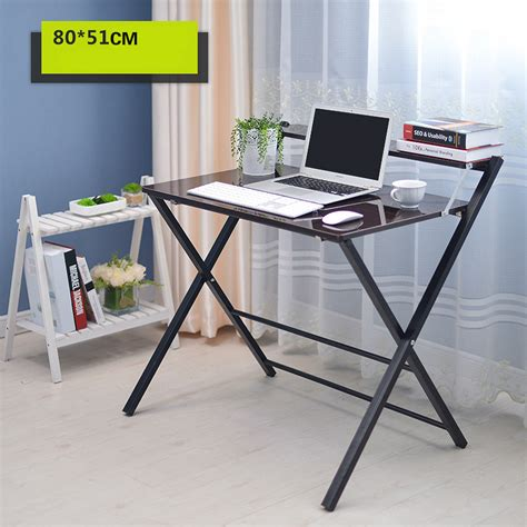 Modern Folding Desk by Simple Folding Desk Laptop Desk Modern Sidebed Table