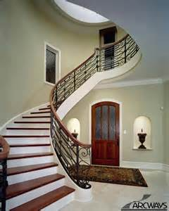 Metal Handrails For Steps Curved Stairs Curved Staircase Circular Staircase