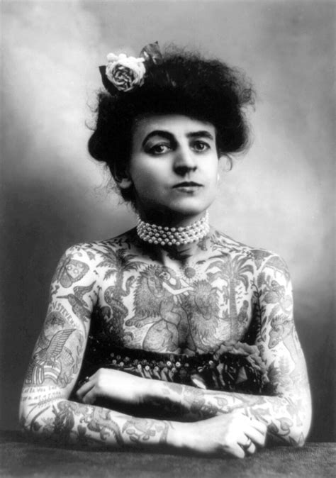 female tattoo history blog