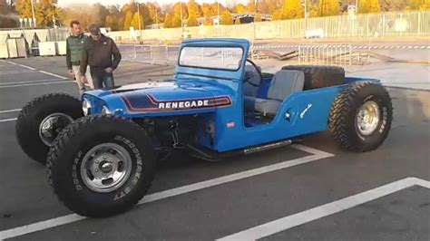 Hotrod Jeep Jeep Renagade Rod Track Day Monza Italian Style