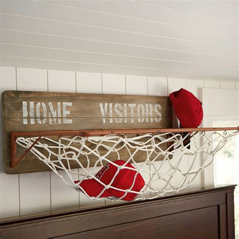 cool things to put on your bedroom wall sports wall organization storage rack holycool net