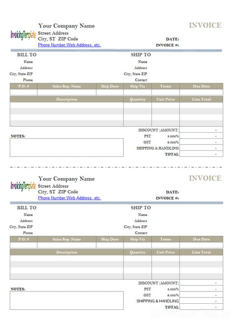 pages invoice templates free invoice templates apple pages for