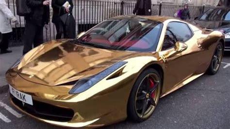 golden ferrari 458 as 205 viven los ricos en dubai 2 el pais mas rico del