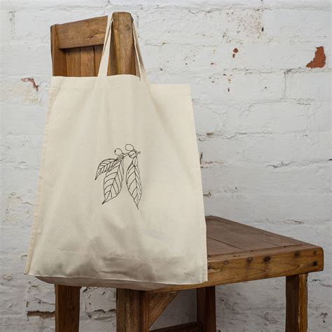 Coffee Lo Ver Totebag coffee lover s gift tote bag by thread squirrel