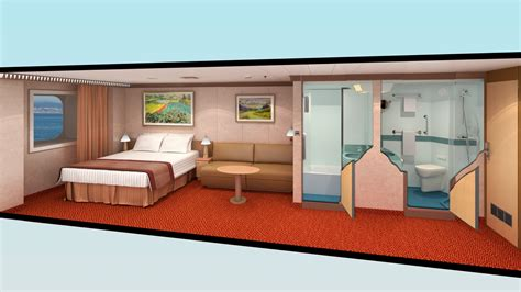 carnival dream suite floor plan carnival magic deluxe ocean view floor plan floor matttroy
