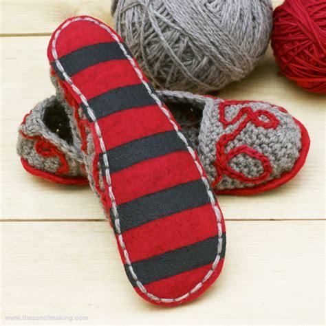 slipper soles for crochet slippers slipper soles for crochet slippers crochet and knit