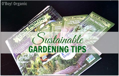 Organic Gardening Tips Sustainable Gardening Tips
