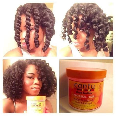 Flat Twist Out Hairstyles For Hair by Chunky Twist Out With Cantu Twist And Lock Gel Black