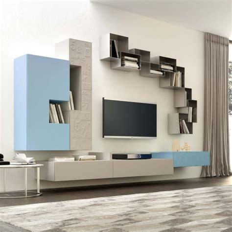 parete moderna soggiorno idee 10 pareti attrezzate per arredare un soggiorno