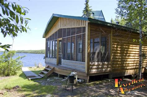 flying with large in cabin papaonga lake outpost cabin pictures