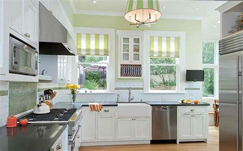 Light Green Kitchens 15 Cheery Green Kitchen Design Ideas Rilane
