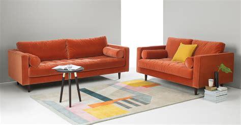 burnt orange microfiber sofa 20 best burnt orange sofas sofa ideas