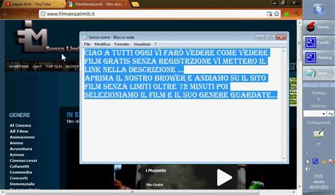 film gratis online senza registrarsi come vedere film gratis e senza registrarsi youtube