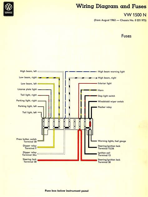 100 1970 ford f100 wiring diagram thesamba kit car 1964