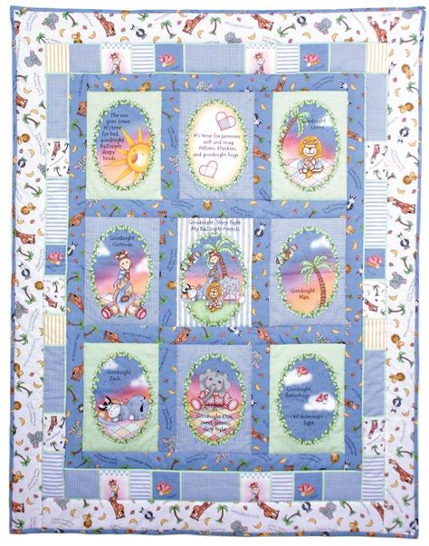 story nursery quilt from springs creative favecrafts com