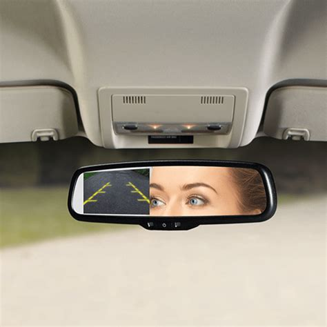 audiovox replacement rear view mirror backup camera