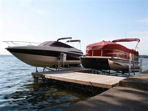 j dock boats r j machine custom built docks boat lifts in the