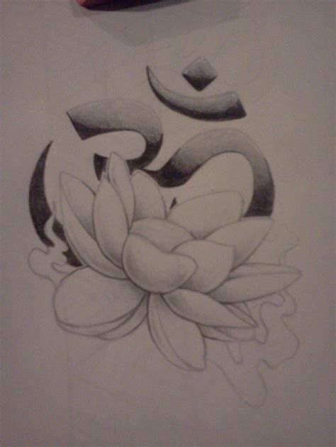 ohm symbol tattoo designs lotus ohm by darkdreamsj on deviantart
