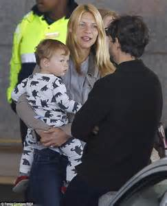 claire danes son claire danes amuses son cyrus as she arrives in cape town