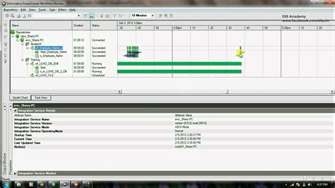 workflow monitoring informatica tutorial 1 7 schedule and monitor workflow