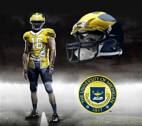 u of m fan prototype m football jerseys created by a fan mgoblog