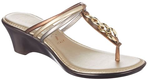 italian shoemakers womens kerri wedge sandals