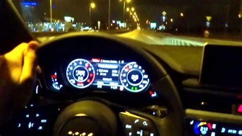 Audi Night by 2016 Audi A4 B9 Quattro 2 0 Tfsi Night Driving Test Drive
