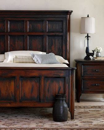 Benson King Bed Traditional Beds By Horchow Bensons Bedroom Furniture