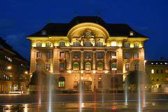 banca cantonale svizzera il parlamento svizzero 01 berna svizzera immagine stock