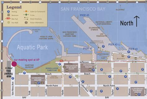 san francisco map ness ness san francisco map