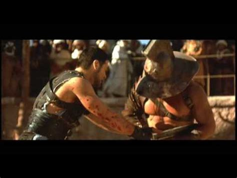 musique film gladiator youtube maximus gladiator speech with fight with russell crowe