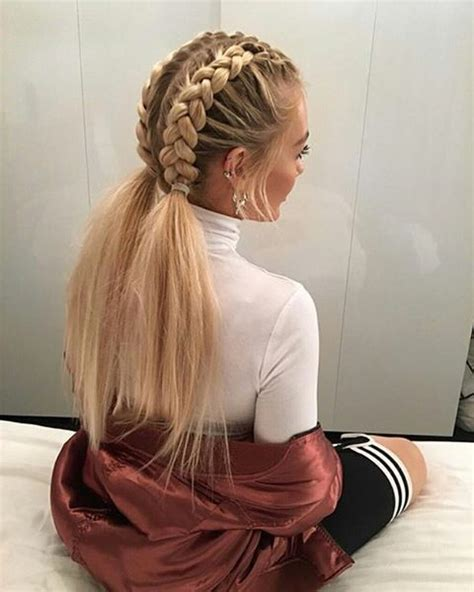 fashion icon plaited hair 115 peinados con trenzas todos los tipos de peinados