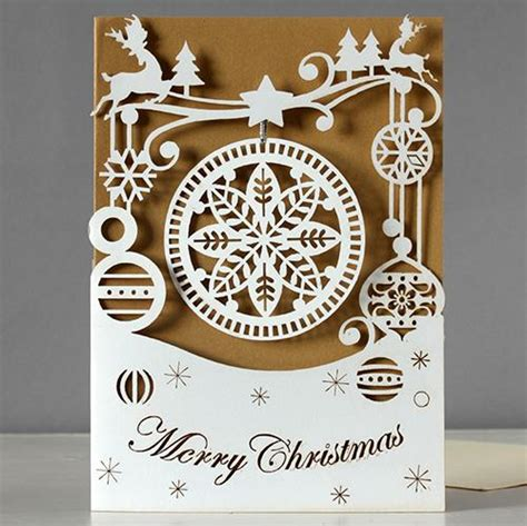 Bauble Snowflake Laser Cut Christmas Card By Alljoy Alljoy Iapetus Laser Cut Pop Up Card Template