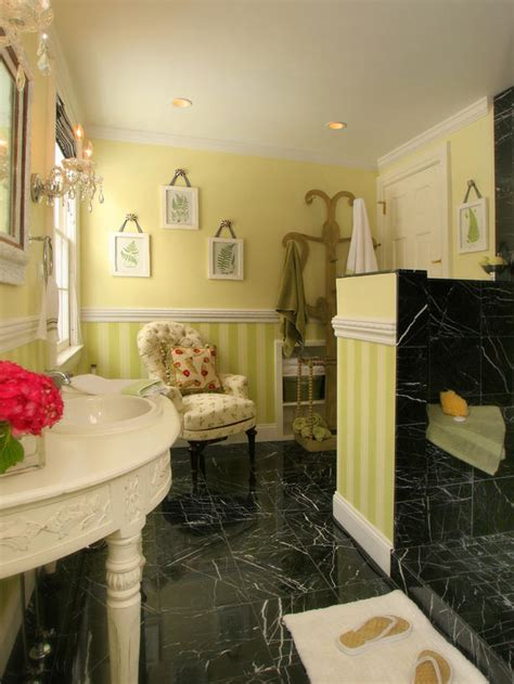 Black And Green Bathroom by Colorful Bathrooms From Hgtv Fans Bathroom Ideas Design With Vanities Tile Cabinets Sinks