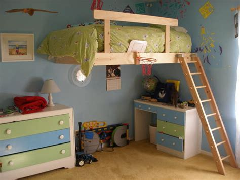 kids loft bedroom ideas kids loft bed plans with beautiful designs and remodeling