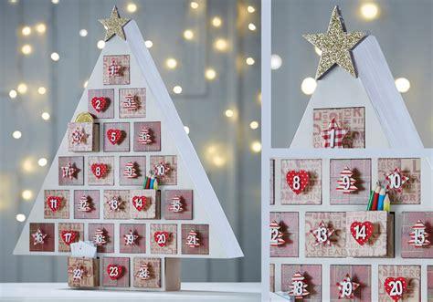 advent calendar traditional advent calendar tree hobbycraft