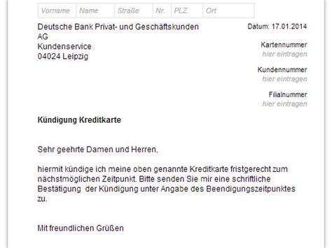 deutsche bank kreditkarte kuendigen vorlage  chip