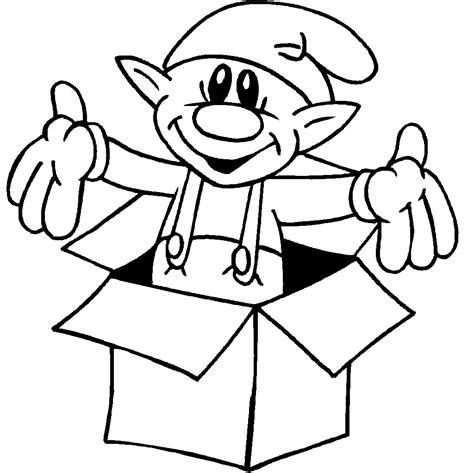 coloring page elves free printable elf coloring pages for kids