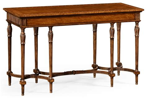 Napoleon Iii Style Console Table With Fine Inlay Sofa Table Styling
