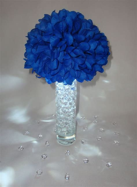 17 Best images about royal blue wedding centerpieces on