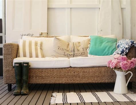 beachy sofas beach cottage coastal decor life by the sea