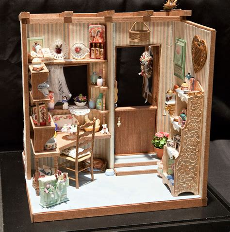 Room In A Box Interior Design by Sam Showcase Of Miniatures At The Show Exhibits
