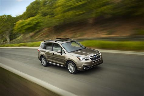 pimped subaru forester new tech makes subaru s 2017 forester safer and more