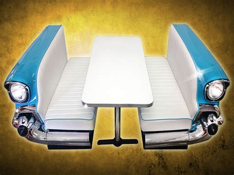 55 chevy couch new retro cars restored classic car full booths recent