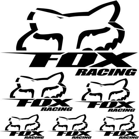 Wallstickers folies : fox racing Decal Stickers kit