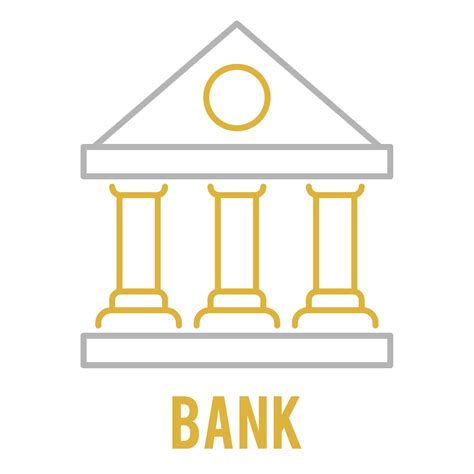 icon bank bank icon graphic by back1design1 creative fabrica