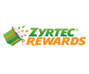 Zyrtec Sweepstakes - use the code for 10 free zyrtec rewards points free stuff freebies