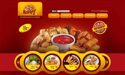 inspirasi desain website kuliner argiacybercom
